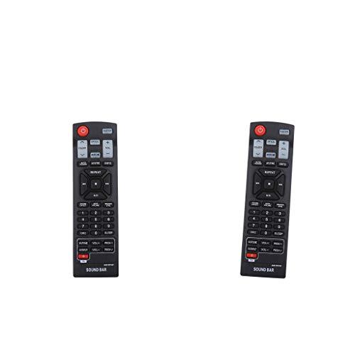 prasku 2X AKB73575421 Mando a Distancia para LG Soundbar NB4543, NB5540, NBN36