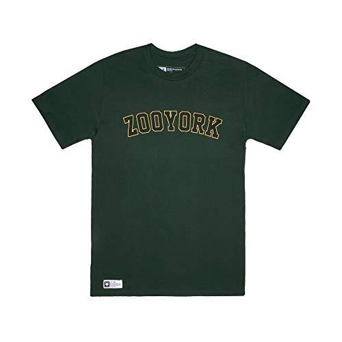 Zoo York Herren Core Arch T-Shirt, Grün (Forest Green FST), Large