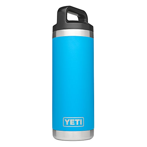 YETI Rambler 18oz Vacuum Insulated Stainless Steel Bottle with Cap,...