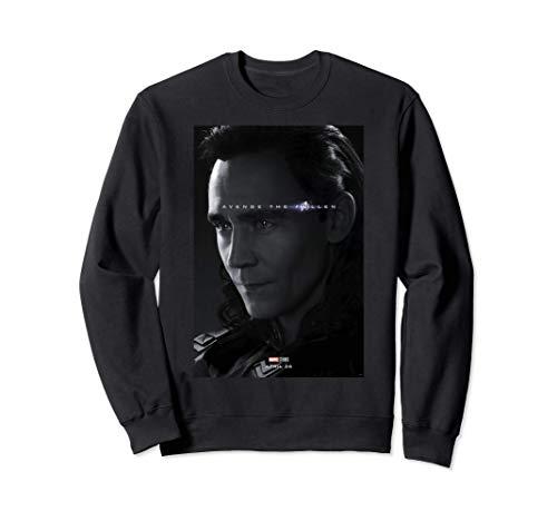 Marvel Avengers: Endgame Loki Avenge The Fallen Poster Sweatshirt