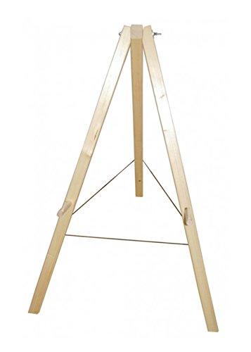 Battle-Merchant Zielscheibenständer aus Holz für Bogenschießen Holzständer LARP Bogenschützen Mittelalter Wikinger