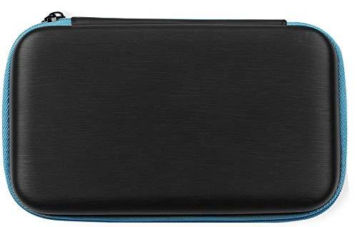 AmazonBasics - Funda de transporte para Nintendo 2DS XL con 3 lápices capacitivos y 2 protectores de pantalla  - Negro