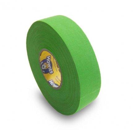 Schlägertape Profi Cloth Hockey Tape 25mm f. Eishockey farbig (neon grün), 23 m