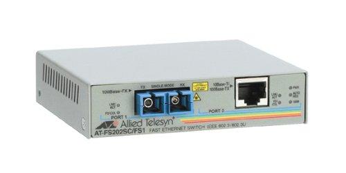 10/100BTX to 100BFX Sc Media Converter Federal