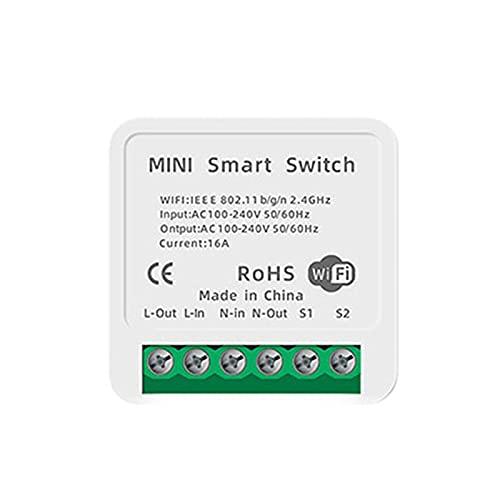 Lanyin Módulo de control remoto de interruptor WiFi inteligente eléctrico para electrodomésticos, módulo universal DIY - Módulos de automatización remota interruptor