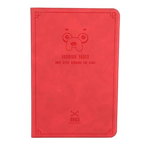Eboxer Funda Protectora para iPad Mini 4, Funda Protectora Ultrafina Anti-Grietas con Tapa Que se Desplaza Automáticamente con Activación/Suspensión, Soporte Incorporado para iPad Mini4(Rojo)
