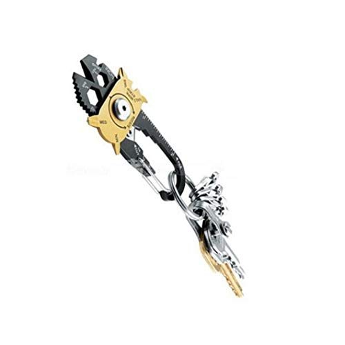 TOPofly Taschen-Multi-Werkzeug, Schraubenzieher Schlüssel-Öffner Überlebens-Werkzeug 20 In1 Multi-Funktions-Taschen-Werkzeug für Convenience