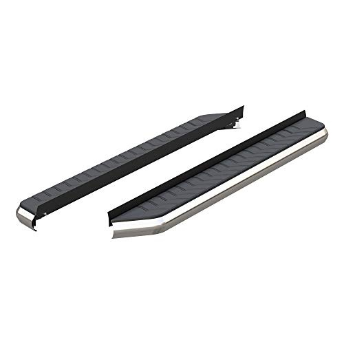 ARIES 2051870 AeroTread 70-Inch Polished Stainless Steel SUV Running Boards, Brackets Sold Separately