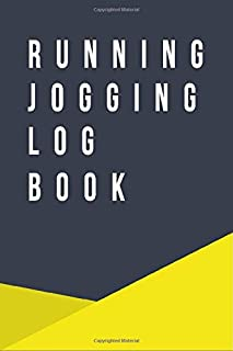 Running Jogging Log Book: Running Diary : Date, Distance, Time, Pace, Heart Rate, Rest Heart Rate, Run type and Notes (6