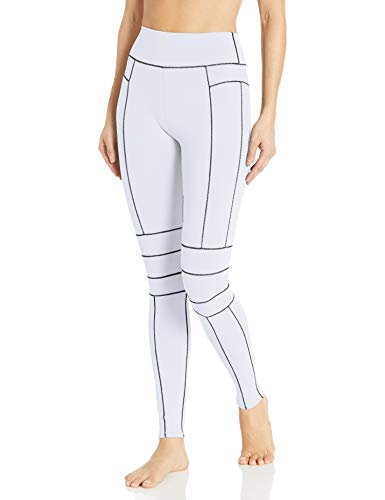 Alo Yoga Women's High Waist Endurance Legging, White, Medium