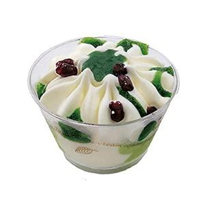 プチアイスパフェ 抹茶&バニラ 6個 濃厚なバニラアイスと和香る抹茶アイスクリーム