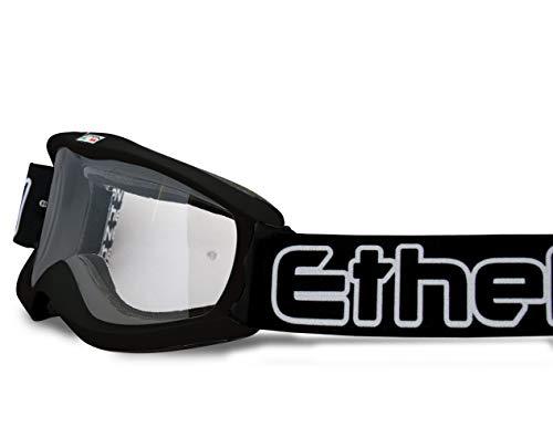 Ethen Gafas/Máscara de Ciclismo, Motocross y Enduro para Niños, Lente Antivaho Cilíndrica...