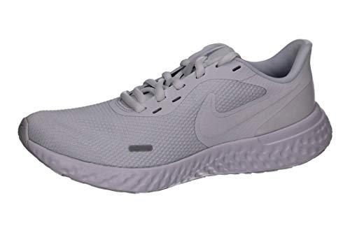 Nike Womens Revolution 5 Mesh Fitness Running Shoes White 9.5 Medium (B,M)