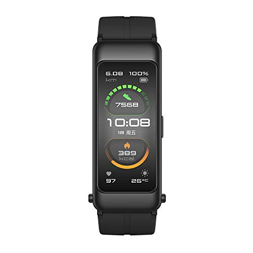 HUAWEI TalkBand B6 AMOLED 3,89 cm (1.53') Funda de Brazo para Monitor de Actividad física Negro IP57 TalkBand B6, Funda de Brazo para Monitor de Actividad física, 3,89 cm (1.53'), AMOLED,