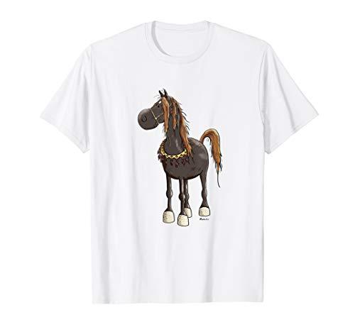 Lustiges Araber Pferd T Shirt Geschenk für Pferdefreunde