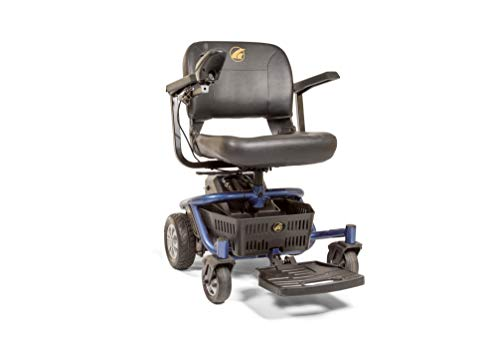 Fantastic Deal! LiteRider Envy Lightweight Electric Power Wheelchair – Compact Mobility Scooter Chair, Disassembles for Travel, GP162 by Golden Technologies