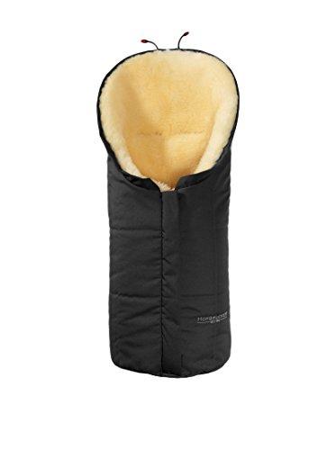Hofbrucker seit 1948 Wagensack aus Lammfell Eskimo schwarz one size