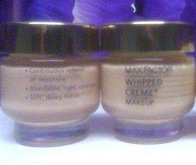 Max Factor Whipped Creme Cream Makeup Foundation 1oz/28g Classic Formula, Medium Beige (Warm 3)