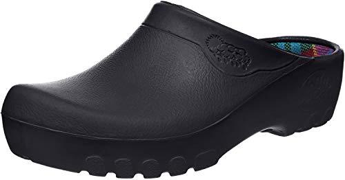 Jolly Fashion Clog schwarz, Gartenschuh, 46