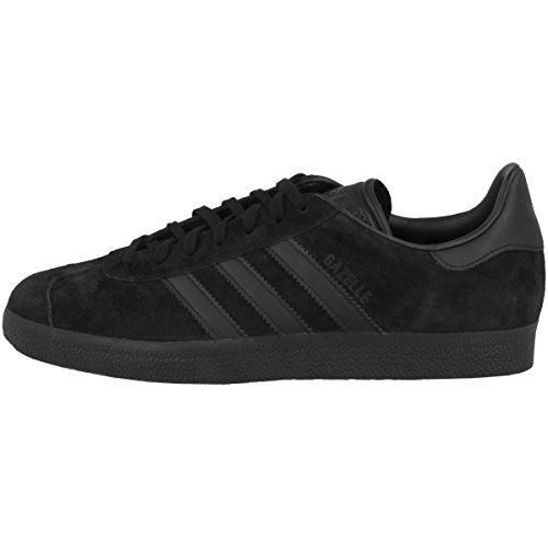 adidas Herren Gazelle CQ2809 Fitnessschuhe, Schwarz (Negbas/Negbas/Negbas 000), 42 EU,42 EU