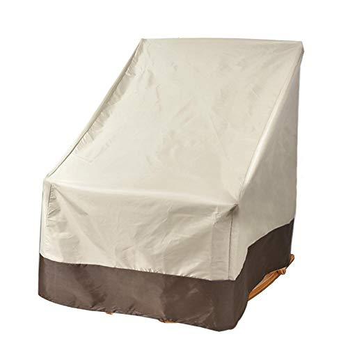 Hangarone - Funda para silla mecedora, impermeable, antiUV, para sillas, para exteriores, jardín, patio, 70 x 83 x 99 cm