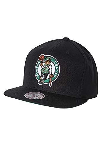 Mitchell & Ness Gorra Wool Solid Boston Celtics Negro - Ajustable