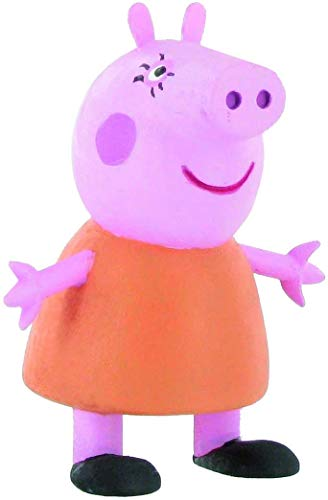 Comansi- Peppa Mummy Pig Mini Figura, Multicolor, 6.5 cm (Y99681)