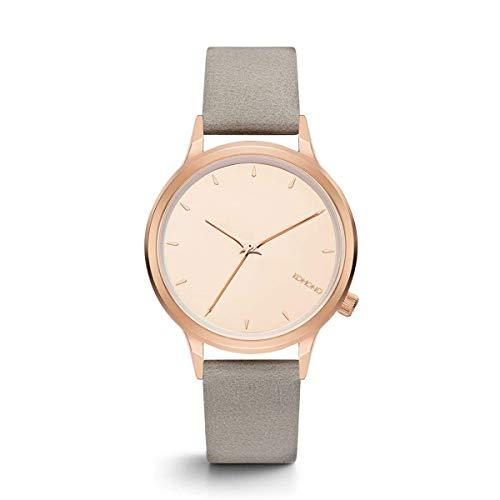 Komono–Reloj de Pulsera analógico para Mujer Cuarzo One Size, Color Rosa, Gris