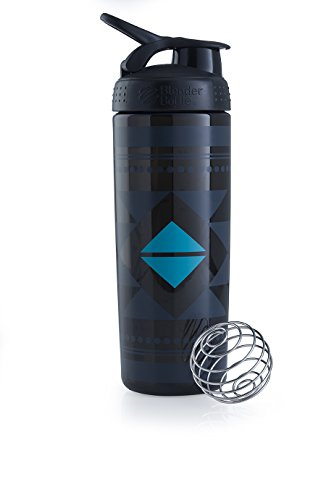 Blender Bottle Signature Sleek - Protéine Shaker / Bouteilled'eau  820ml Noir Diamond Native