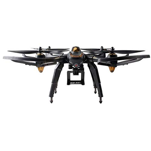 HUANRUOBAIHUO Aggiornato Primavera atterraggio Skid Camera Staffa di Montaggio a Blad Props Guard for Hubsan H501S X4 FPV di RC Drone Quadcopter Ricambi Accessori Quadcopter (Color : Set1)