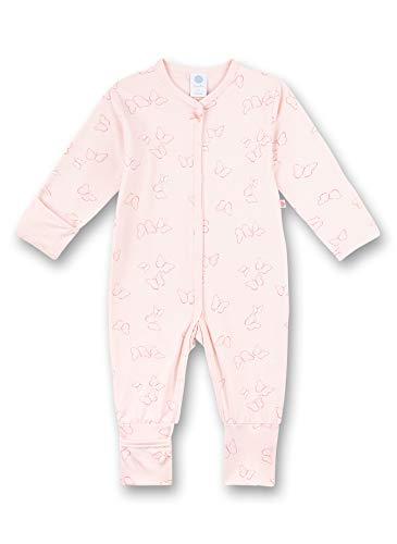 Sanetta Baby-Mädchen Strampler rosa Kleinkind-Schlafanzüge, Shadow Rose, 080