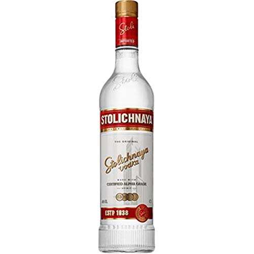 Stolichnaya Red Premium 8505050 Vodka, 700 ml