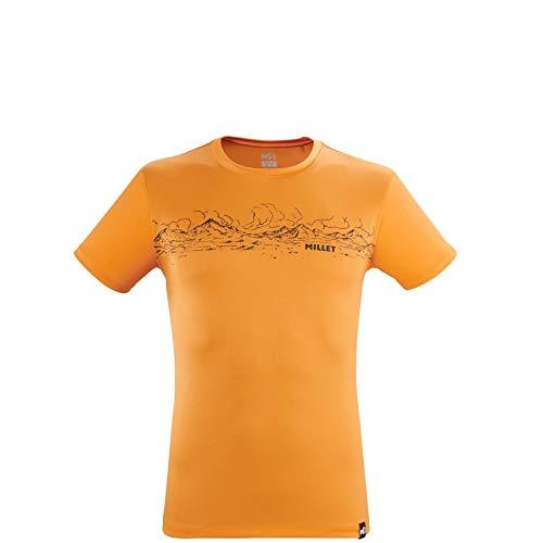 Millet - Rolling Clouds TS SS M - T-shirt Sport Homme - Orange - S