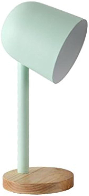 QY Schreibtischlampen - Tischlampe Kreative Lichter Arbeiten Schreibtisch Einfach Nachttischlampen (Farbe   1)