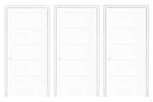 Türumrandung DK02 - Rahmen aus PU Kunststoff weiß, Sets-/ & Komponentenauswahl - Grand Decor (Komplettset DK023 inkl. Montagekleber)