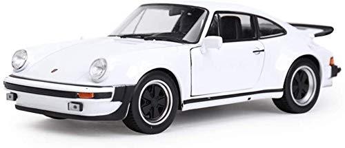 Modelo de coche Modelo de coche de coches 01:24 Simulación de aleación de fundición a presión de 911 Turbo Accesorios de los juguetes Colección coche de deportes de joyería Modelo de fundición a presi