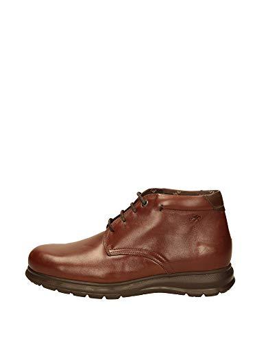 FLUCHOS - Bottes habiller cuir - Cuir - Marron - marron, 40 EU EU
