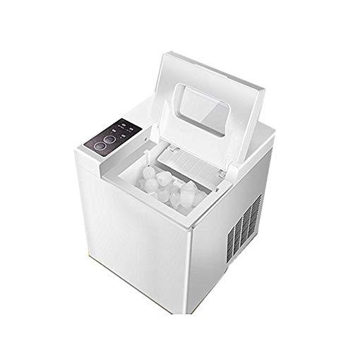 Ice Maker Big Bar Café ijsblokjesmachine, 15 kg / 24 uur, elektrisch, rond ijsblokjesmachine, Big Bar Café Teamilk Boutique Ice Maker