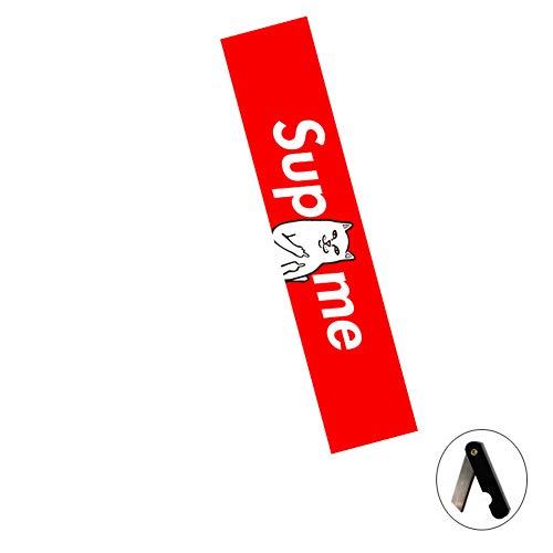 Dapang Skateboard Griptape, Skateboard Grip Tape Sheet 47 x 9,8 Zoll (20 Farben), Schwarzes Scooter Grip Tape, Longboard Griptape, Schleifpapier für Rollerboard (110 x 25 cm),9