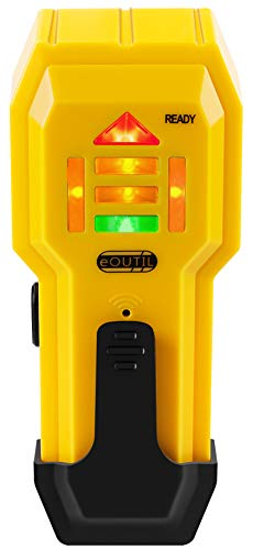 Stud Finder Wall Scanner Wall Detector Sensor with LCD Light Indicator amp Sound Warning for Detecting Wood and Metal Studs for 3/4Inch Deepth