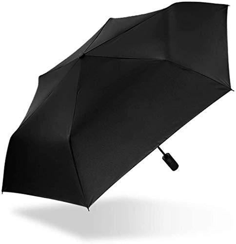 ZJJJD Regenschirm Tasche Regen Und Regen Sonnenschutz Sonnenschutz Uv-Schutz Upf50 Markise Mini Regenschirm Sturmsicher Lightweight Wunderschönen Rutschsicherem Premium Qualität