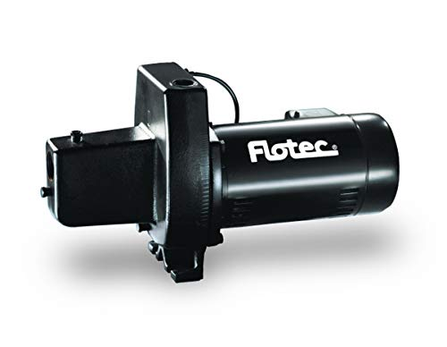 """Flotec Cast Iron Shallow Well Jet Pump 1/2 Hp Boxed 1-1/4 """""""