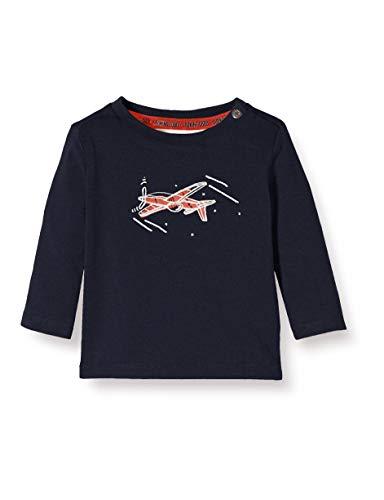 Noppies Baby-Jungen B Regular T-Shirt ls Masonboro Langarmshirt, Blau (Dark Sapphire P208),...