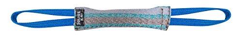 Julius-K9 18422-2 18422-2, Beisswurst, Baumwolle-Nylon, 20 cm*3 cm, mit zwei Schlaufen, außen genäht