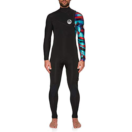 RIP CURL E-Bomb Pro 3 / 2mm Zip Free Wetsuit Multicolor - Easy Stretch Ligero