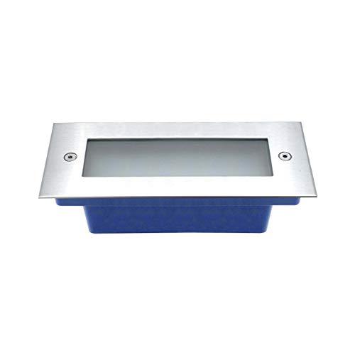 LineteckLED -FC2-8W- Segnapasso LED Rettangolare da Incasso 8W AC 220-240V Luce Naturale