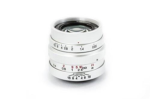 Mitakon Zhongyi Speedmaster 25mm f/0,95Lente para Micro Cuatro tercios cámara, Plata