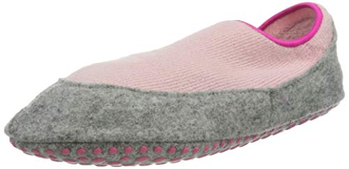 FALKE Unisex Kinder Cosy Slipper K KH Hausschuh-Socken, Rosa (Almond Blossom 8441), 29-30 (5-6 Jahre)