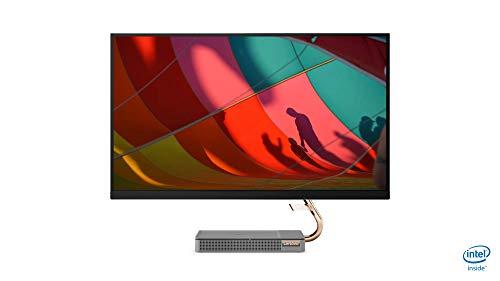 Lenovo IdeaCentre AIO 5i 68,58 cm (27 Zoll, 2560x1440, QHD, entspiegelt) All-in-One Desktop-PC (Intel Core i7-10700T, 16GB RAM, 1TB SSD, DVD-Brenner, NVIDIA GeForce GTX 1650, Windows 10 Home) grau