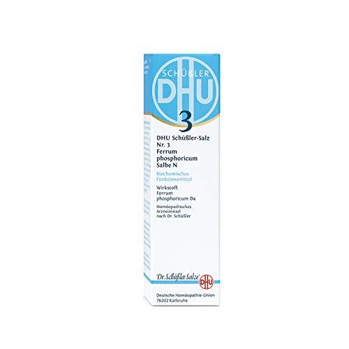 DHU Schüßler-Salz Nr. 3 Ferrum phosphoricum D 4 Salbe N, 50 g Salbe